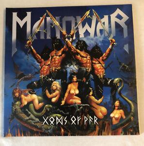 """Manowar -Gods Of War , 3x Vinyl / LP 12"""" MCA 01203-1"""