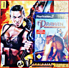 SONY PS2 DRAKAN - THE ANCIENTS' GATES + limitited COMIC U poster-order of Flame