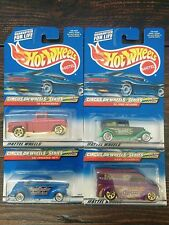 CIRCUS ON WHEELS SERIES Hot Wheels Complete Set 1,2,3,4 2000 flashsider 32 ford