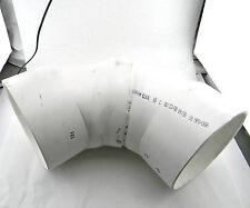 """SPEARS 3706-080 45 DEG ELBOW SOCKET SCH 40 DWV 8"""" PLASTIC FITTING COUPLING"""