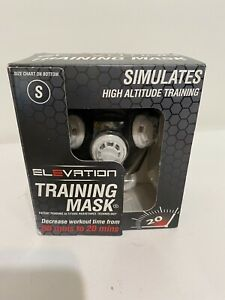 New ELEVATION Training Mask 2.0 High Altitude Workout Running Mask Size Small S