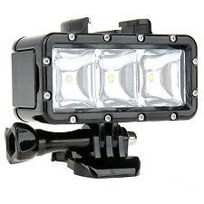 Waterproof LED Video Light Diving Lights Bulbs for Gopro Hero 4/3+/3 sjcam