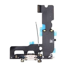 White Charging Dock Port USB Flex Cable with Mic Antenna for iPhone 7 Plus 5.5''
