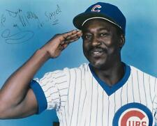 Gary Matthews The Sarge Chicago Cubs Signed 8x10 Photo w/COA