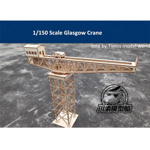 1/150 TMW Glasgow Type Port Crane Laser Cut Wood Kit- N gauge/ 10mm