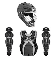 Under Armour Victory Series Girls Fastpitch Catchers Set Black