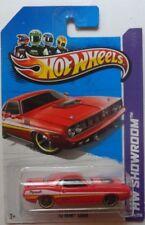 2013 Hot Wheels HW SHOWROOM '70 Hemi Cuda 234/250 (Red Version)