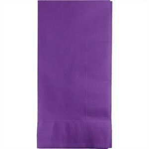 Amethyst Paper Dinner Napkins Paper 50 Pack Purple Party Tableware Decoration