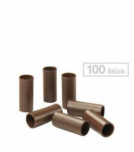Balmain Micro Rings Braun, Pro Packung 100 Stück