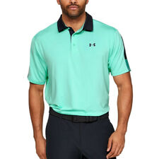 Under Armour Ua Heatgear Hombre Playoff 2.0 Neo Turquesa Holgado Polo de Golf