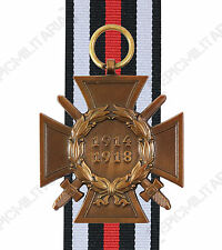 WW1 Imperial GERMAN HONOUR CROSS - Military Service Army Medal Hindenburg Award