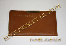 ELVIS PRESLEY OWNED FAMOUS PERSONAL BILLFOLD/WALLET WITH PERSONAL HANDWRITING