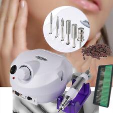Electric Nail Art Drill Machine File Bits Pedicure Manicure Gel Nails 25000rpm