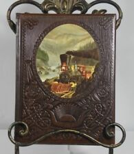 """TIME LIFE BOOK THE OLD WEST """"THE RAILROADERS"""" BEAUTIFUL LEATHER BOUND"""