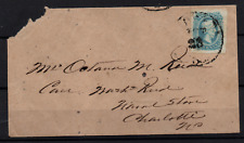 More details for usa circa 1863 10c greenish blue jefferson davis civil war cover ws22956