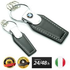 1PZ PORTACHIAVI BMW LOGO KEYCHAIN M SPORT LEATHER NERO CUCITURE XDRIVE X1 X3