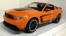 Maisto 1/24 Scale 31269 Ford Mustang Boss 302 Orange Diecast model car