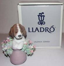 VINTAGE 1990 LLADRO TAKE ME HOME DOG FIGURINE IN BOX. 06574.  SPAIN.