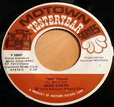 Rare Earth 45 Ma / Big John Is My Name  reissue