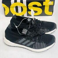 Adidas PulseBOOST HD M Black Grey White Men Running Sneaker Shoes (FU7334)