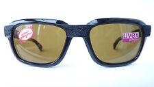 Uvex schwarze Sonnenbrille Vintage Echtglas optisch geschliffenHerren size L