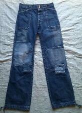 H-LANDERS pantalon pour homme Jeans & patchwork