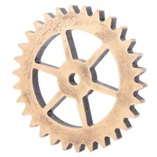 Rustic Wooden Circle Gear Home Bar Wall Hanging Art Craft Decor #6 14cm