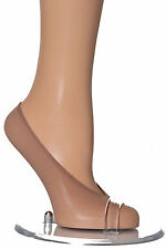 3 PAIRS WOMENS SKIN SHOE LINERS  FOOTSIES INVISIBLE NO SHOW SOCKS  SIZE 6-9