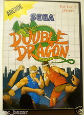 jeu MASTER SYSTEM DOUBLE DRAGON complet