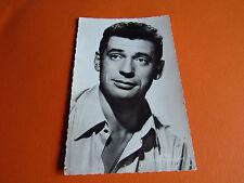 CPA N°135 YVES MONTANT CHANTEUR ACTEUR 1950/1960  PHOTO CINEMA CARTE POSTALE