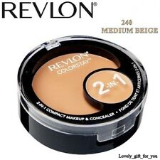 NEW Revlon Colorstay 2in1 Compact Makeup & Concealer Foundation 180/200/ 220/240