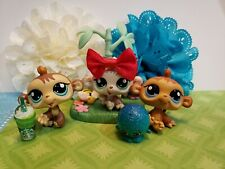 Littlest Pet Shop #1551 #1552 #1553 Monkey Chimp Baby Petriplets LPS Set