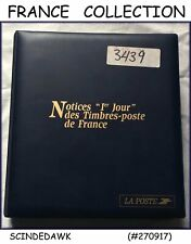 COLLECTION OF FRANCE 2002 PROOFCARDS IN AN ALBUM