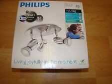 Philips LED MyLiving Ceiling  Spot Light Matt Chrome