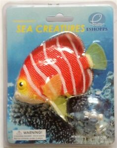 Eshopps Sea Creatures Floating Ornament Peppermint Angelfish Floats Real Looking