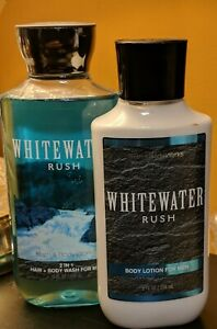 Bath & Body Works Whitewater Rush 2-in-1 Hair & Body Wash & Body Lotion