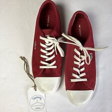 Lacoste Women's Red Suede Ziane Casual Sneakers US Size 8.5 / UK 6.5 / EUR 40