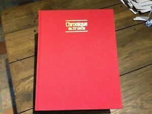 chronique du 20 ème siècle édition 1988