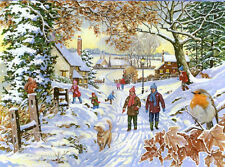 The House Of Puzzles - 500 BIG PIECE JIGSAW PUZZLE - Snowy Walk Big Pieces