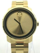 MOVADO Bold Champagne Dial Yellow Gold-plated Men's Watch Item No. 3600258