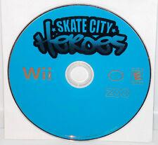 Skate City Heroes (Nintendo Wii, 2008) Skateboarding Skating Video Game