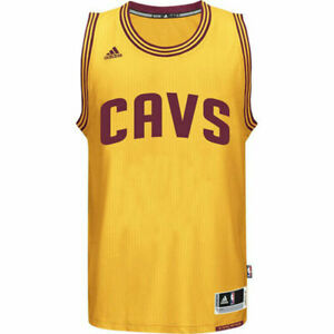 Cleveland Cavaliers Youth XL X-Large +2 (Length) Swingman CAVS Jersey - Gold