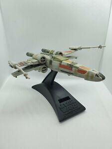 "1995  Star Wars Action Fleet X-Wing Fighter with NO R2D2 6"" Inch Luke Skywalker"