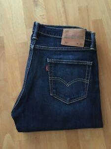 Levi's Jeans 511, Slim Fit, W34 L32 blau