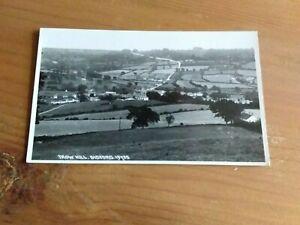 Sidford near Sidmouth,  Devon. Trow Hill. Vintage Postcard.