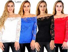 Bandeau Regular Floral Fitted Tops & Shirts for Women