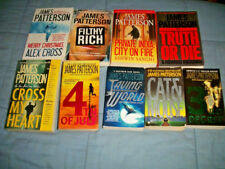 Lot of 14 JAMES PATTERSON Alex Cross Detective UNSORTED Paperback PB Books MIX