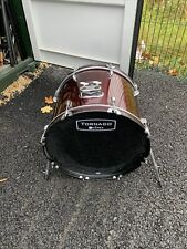 """More details for free p&p. 22"""" mapex bass drum. wine finish. 22x16"""" bd010304"""