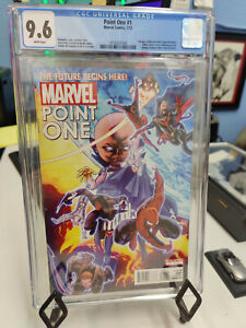 POINT ONE #1A (2011) - CGC GRADE 9.6 - FIRST APPEARANCE OF SAM ALEXANDER!