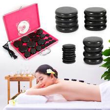 20pcs Massage Stone set Hot Basalt Set Lot Kit Natural Therapy Rock Spa Top